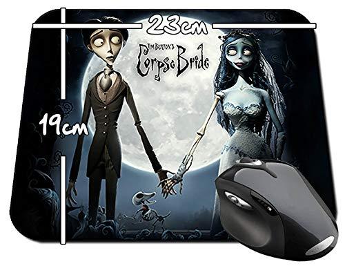 La Novia Cadaver Corpse Bride Tim Burton B Alfombrilla Mousepad PC