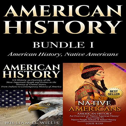 American History, Bundle I: American History, Native Americans audiobook cover art