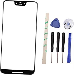 Outer Screen Front Glass Lens Replacement for HT C Google Pixel 3 XL 3XL G013C G013D 6.3
