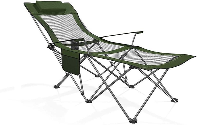 1949shop Portable Camping Chaise Lourde Chaise Pliante Solide Durable et Confortable MultiCouleure en Option Portable FKYGDQ (Couleur  E)