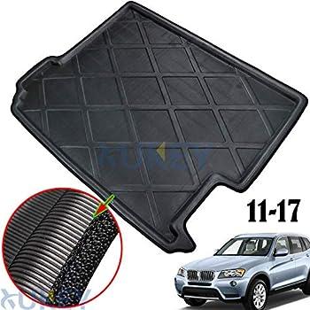 ZentimeX Z922183 Vasca baule su misura con superficie scanalata e integrato tappeto antiscivolo