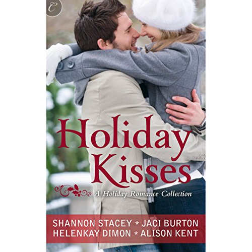 Holiday Kisses audiobook cover art