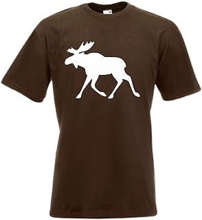 T-shirt – älg Sverige