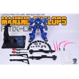 PoisonToys/MOSHOW 1/72 可動フィギュア AMX-01S MANINC CYCLOPS 合金 完成品 MS-18E
