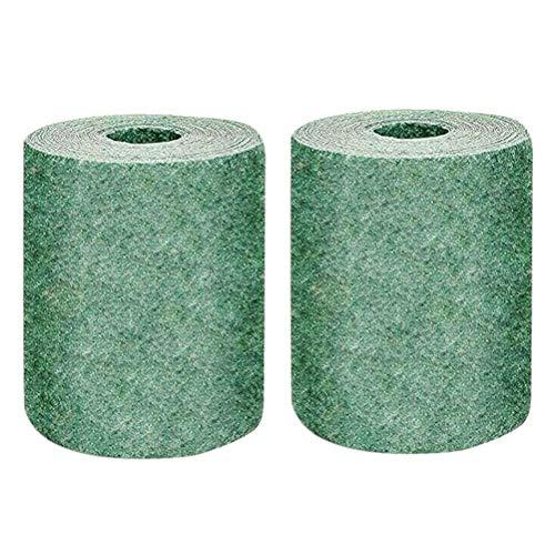 2 alfombrillas de semillas de césped biodegradables alfombras de semillas de hierba alfombras de inicio de semillas para jardín alfombrilla de germinación de plantas para céspedes a prueba de viento