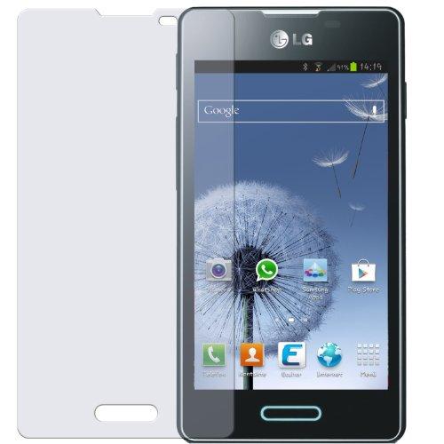 dipos I 2X Schutzfolie matt kompatibel mit LG Optimus L5 II Folie Displayschutzfolie