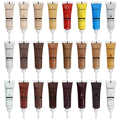 Wood Filler Repair 24 Colors Wood Touch-Up Plaster Furniture Scratches Repair for Wall Hardwood Laminate Flooring Wardrobe Surface Scratch Covering Agent