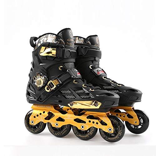 HHORD Unisex Adult Fitness Inline-Skate, High Performance Inline Skates, Freeskate, Freizeit-und Basic-Slalom,39