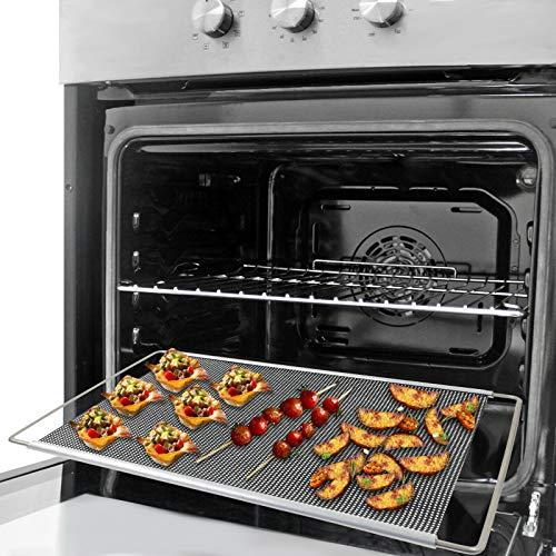 SPARES2GO Plateau de four extensible réglable pour cuisinière Daewoo (320 x 430–630 mm)