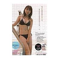 ジグソーパズル300ピース沢口愛華 手作りのアートワーク サイズ38.3×26cm