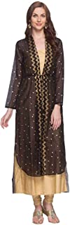 global desi Women's Rayon a-line Salwar Suit Set