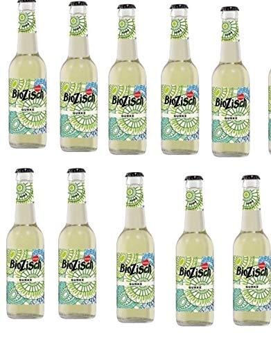 12 Flaschen Voelkel Bio Biozisch Gurke a 330ml inc. 0.96€ MEHRWEG Pfand Erfrischungsgetränk mit Matcha Tee