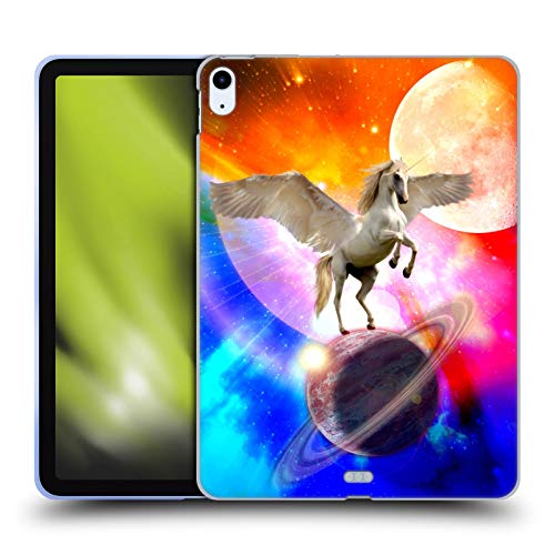 Head Case Designs Officially Licensed Haroulita Space Unicorn Fantasy 2 Soft Gel Case Compatible With Apple iPad Air (2020)