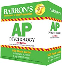 Barron's AP Psychology Flash Cards, 2nd Edition