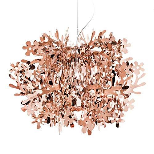 FIORELLA – Lámpara de techo de cobre, diámetro 48 cm, diseño de Nigel Coates