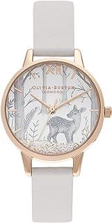 Olivia Burton dames analoog kwarts horloge met veganistisch lederen armband OB16SG11