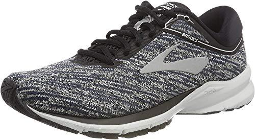 Brooks Launch 5, Zapatillas de Running para Hombre, Multicolor (Black/Ebony/Primer Grey 039), 41 EU