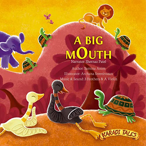 A Big Mouth cover art