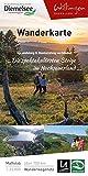 Wanderkarte Uplandsteig & Diemelsteig verbinden