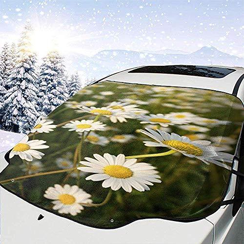 Tridge Chrysantheme Indicum Auto Windschutzscheibe Schneedecke für Auto Frontscheibe Ice Cover Protector wasserdicht