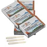 Relags 120 cerillas de madera en 6 cajas, resistentes a las tormentas y al agua.