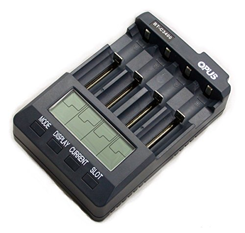 Universal Battery Charger Analyzer Tester for Li-ion NiMH NiCd Rechargeable Batteries C3400 BT-C3400 AA AAA C 18650