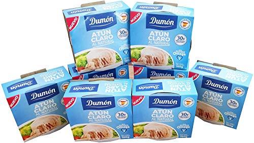 DUMON – 8 eenheden van 160 g ingeblikte natuurlijke lichte tonijn, in zijn eigen sap of water. Ingeblikte vis rijk aan…