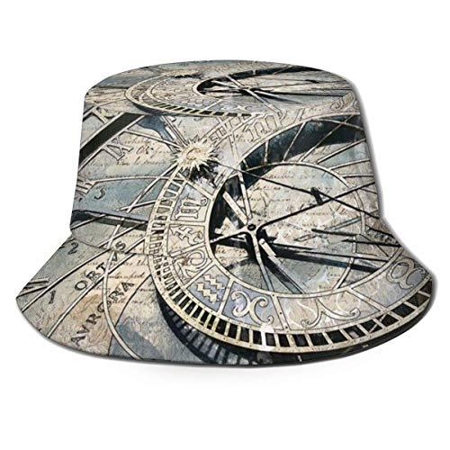 Relojes y Relojes Piezas Sombreros de Cubo Verano Otoño Al Aire Libre Fisherm an Sun Hat Cap