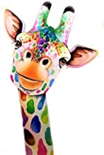 5D Diamond Painting Kit Giraffe DIY,Cross Stitch Kits for Adults Rhinestone Embroidery Cross Stitch Arts Craft for Home Wa...
