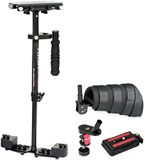 """FLYCAM HD-3000 Micro Balancing 60cm/24"""" Handheld Steadycam Stabilizer with Arm Support Brace for DSLR Video Cameras up to 3.5kg/8lbs - FREE Table Clamp & Unico Quick Release (FLCM-HD-3-AB-QT)"""