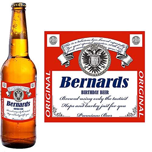 Party People 12 x Etichetta Bottiglia di Birra Personalizzata. Qualsiasi Nome E Messaggio (Design 2)