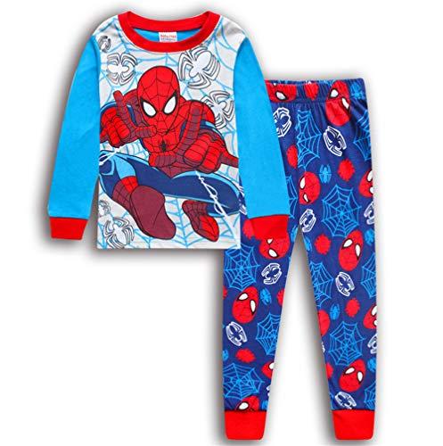 Boys Pajamas Sets Children Christmas Pants 100% Cotton Long Kids Snug Fit Pjs Winter Toddler Sleepwear (39, 5T)