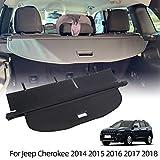 VESUL Retractable Cargo Cover Fit for Jeep Cherokee 2014-2018 Security...