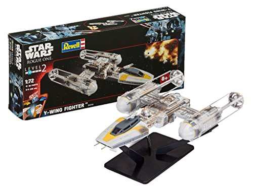 Revell Maqueta Star Wars Y-Wing Fighter, Easy Kit Modelo,