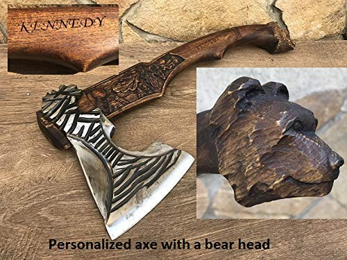 gifts for men tree of life ax viking axe mens birthday gift medieval axe mens gifts Axe iron gift for him kitchen utinsils,tomahawk