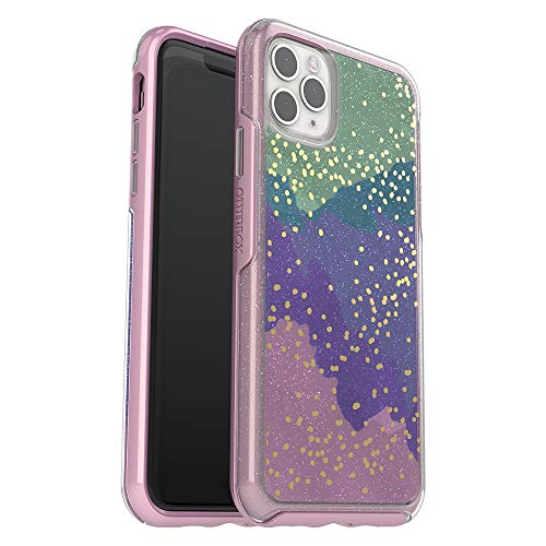 OtterBox SYMMETRY CLEAR SERIES Case for iPhone 11 Pro Max - WISH WAY NOW (SILVER FLAKE/PINK MATTER/WISH WAY NOW)