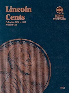 Coin Folders Cents: Lincoln, 1909-1940 (Official Whitman Coin Folder)