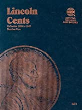 Lincoln Cents Folder #1, 1909-1940