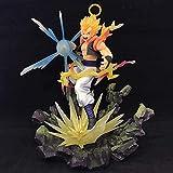 XXSDDM-WJ Regalo 18 5cm Dragon Ball Vegetto Figura de acción D animación Estatua Decoraciones Modelo Escultura Marioneta Colección de Recuerdos Juguetes para Regalo Vegetto-Vegetto RD7-Vegetto