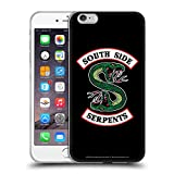 Head Case Designs Offizielle Riverdale South Side Serpents Grafik Kunst Soft Gel Huelle kompatibel mit iPhone 6 Plus/iPhone 6s Plus
