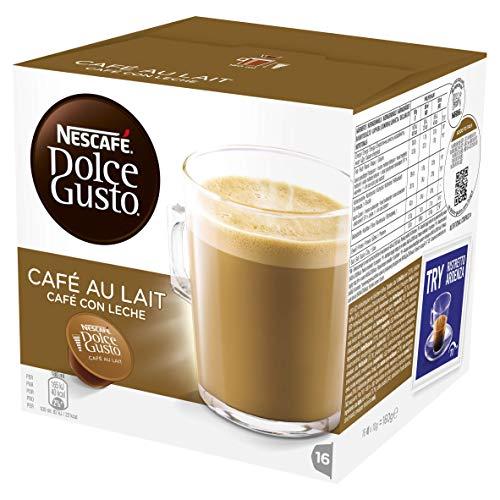 Nescafé Dolce Gusto Café au Lait, 16 Capsulas