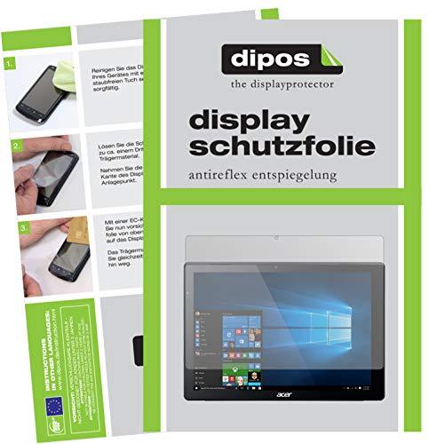 dipos I 2X Schutzfolie matt kompatibel mit Acer Switch Alpha 12 Folie Bildschirmschutzfolie