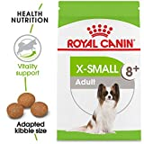 Royal Canin X-Small Adult 8+ Dry Dog Food for Older Dogs, 2.5 lb. bag