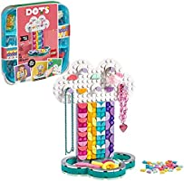 LEGO DOTS Rainbow Jewelry Stand 41905 DIY Craft Decorations Kit, A Fun Toy for Kids who Like Creating Arts and Crafts...
