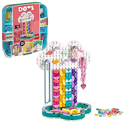 LEGO DOTS Rainbow Jewelry Stand 41905 DIY Craft Decorations Kit