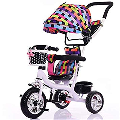 Review ETERLY Children's Tricycle Stroller Baby Bicycle Bicycle Baby Stroller