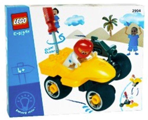 Lego 2904 - Motorrad, 12 Teile