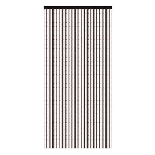 Cortinas con cuentas de madera, cortina de cuentas para puertas, puerta de cuentas de madera, partición de sala de estar, estilo retro, divisiones, armarios, cortinas hechas a mano, 52 hilos, 90x190cm