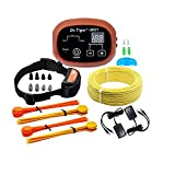 Dr.Tiger 1 Receiver Electric Dog Fence with Rechargeable Shock Collar,...