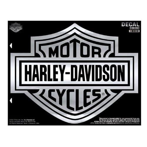 picture regarding Printable Harley Davidson Logo called Harley Davidson Decals and Stickers: